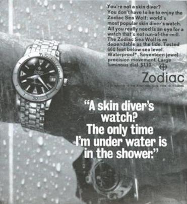 Zodiac watch water theory