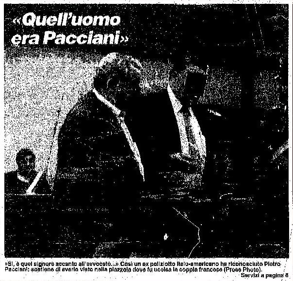 La Nazione Joe Bevilacqua picture 1994